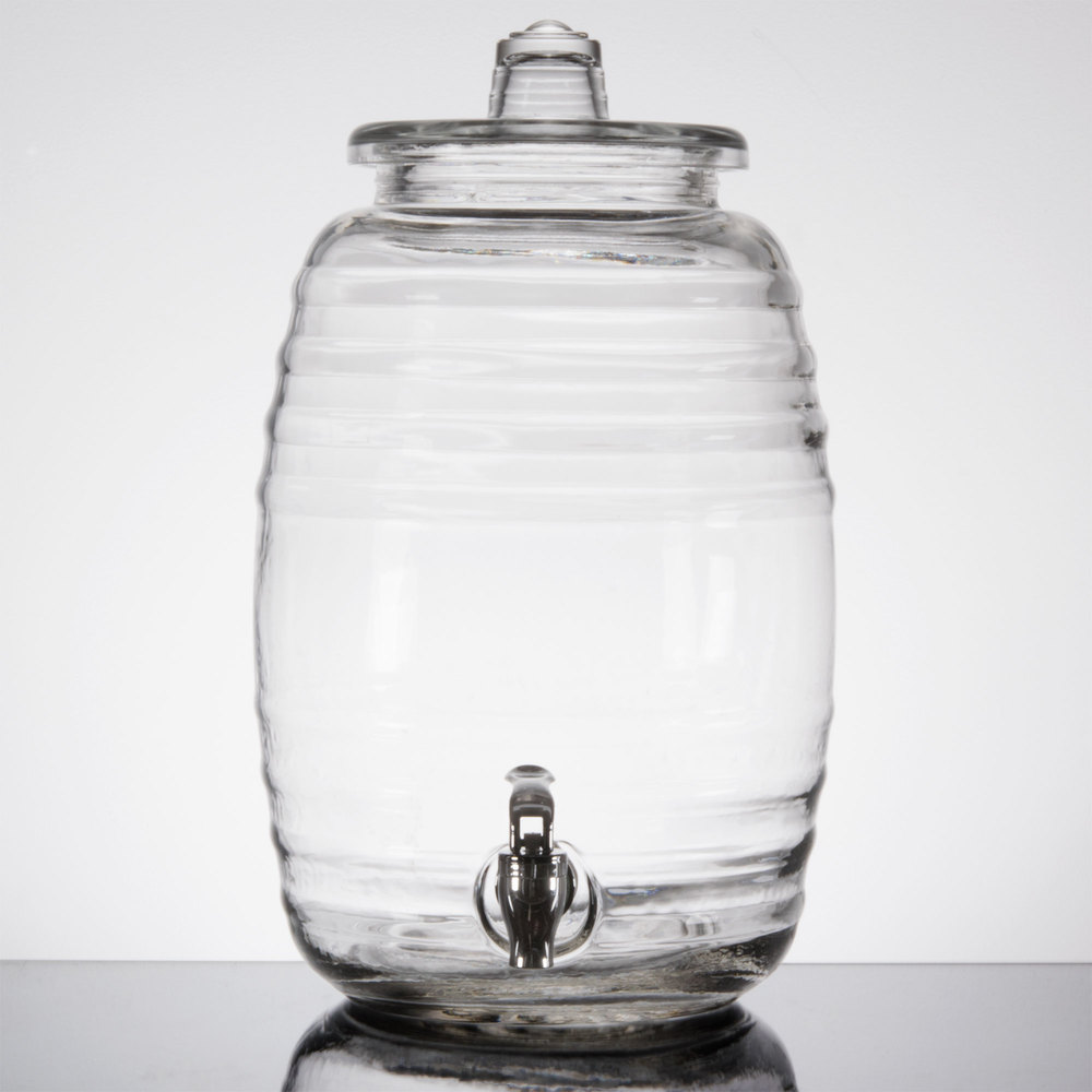 Liter Glass Barrel