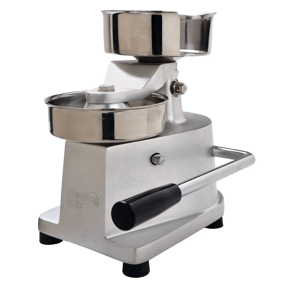 ... lb. Hamburger Patty Molding Press with Single-Level Press Handle