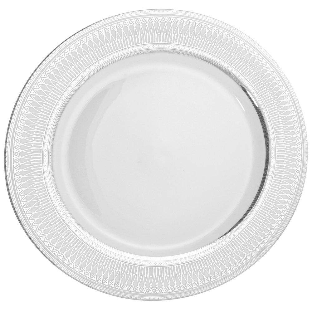 ... Silver Dinner Plate -. Main Picture  sc 1 st  WebstaurantStore & 10 Strawberry Street IRIANA-1SLV Iriana 10 1/4\