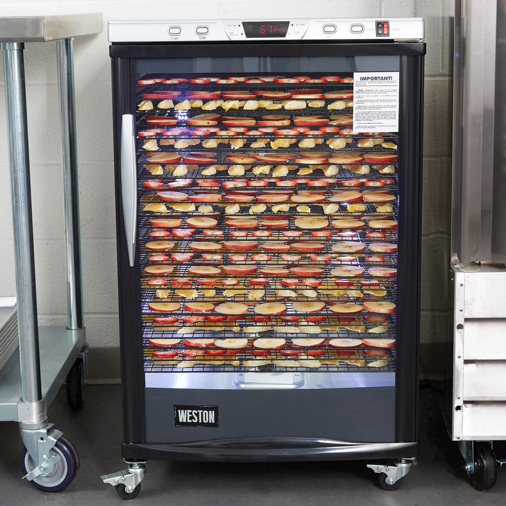 Weston 28 0501 W Steel Alloy 24 Rack Food Dehydrator With