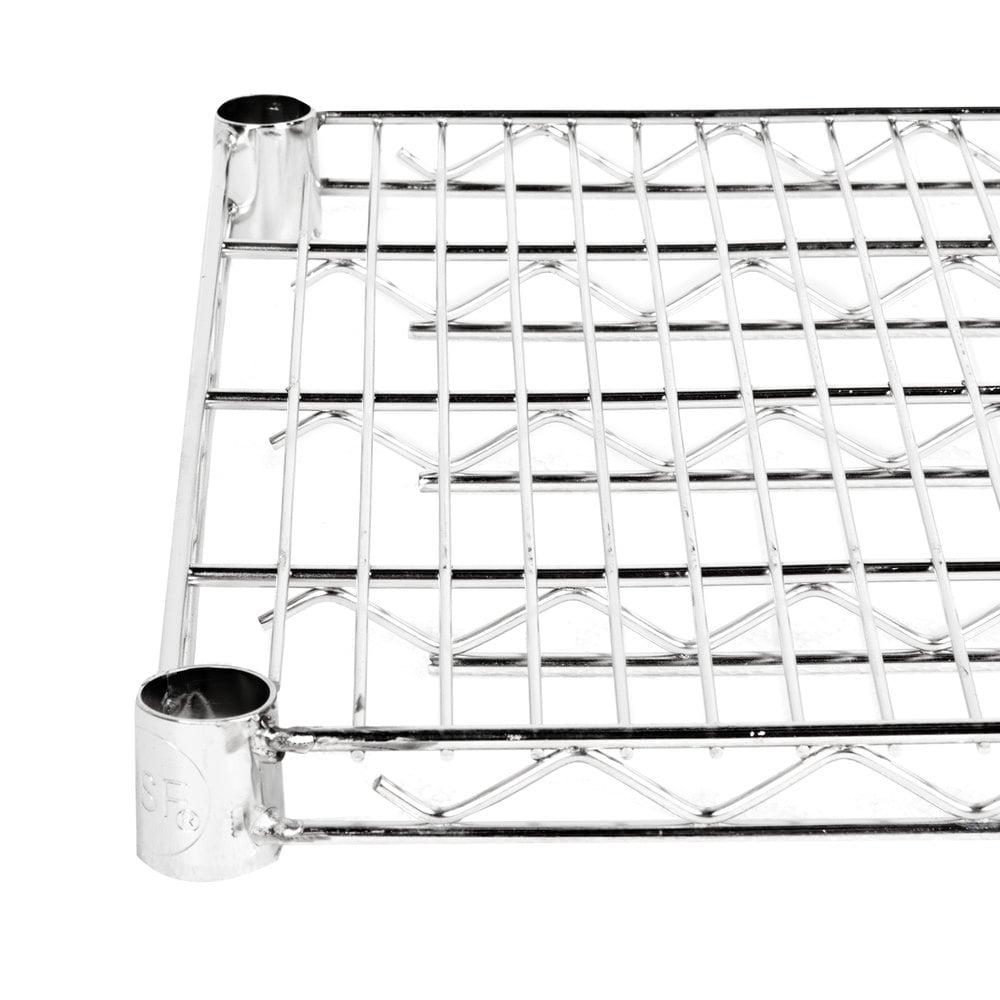 Regency 14 inch x 36 inch NSF Stainless Steel Wire Shelf
