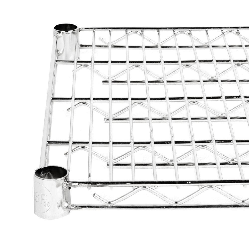 Regency 18 inch x 24 inch NSF Stainless Steel Wire Shelf