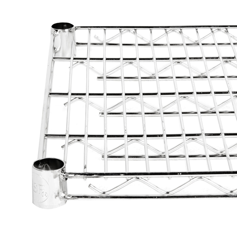 Regency 18 inch x 72 inch NSF Stainless Steel Wire Shelf