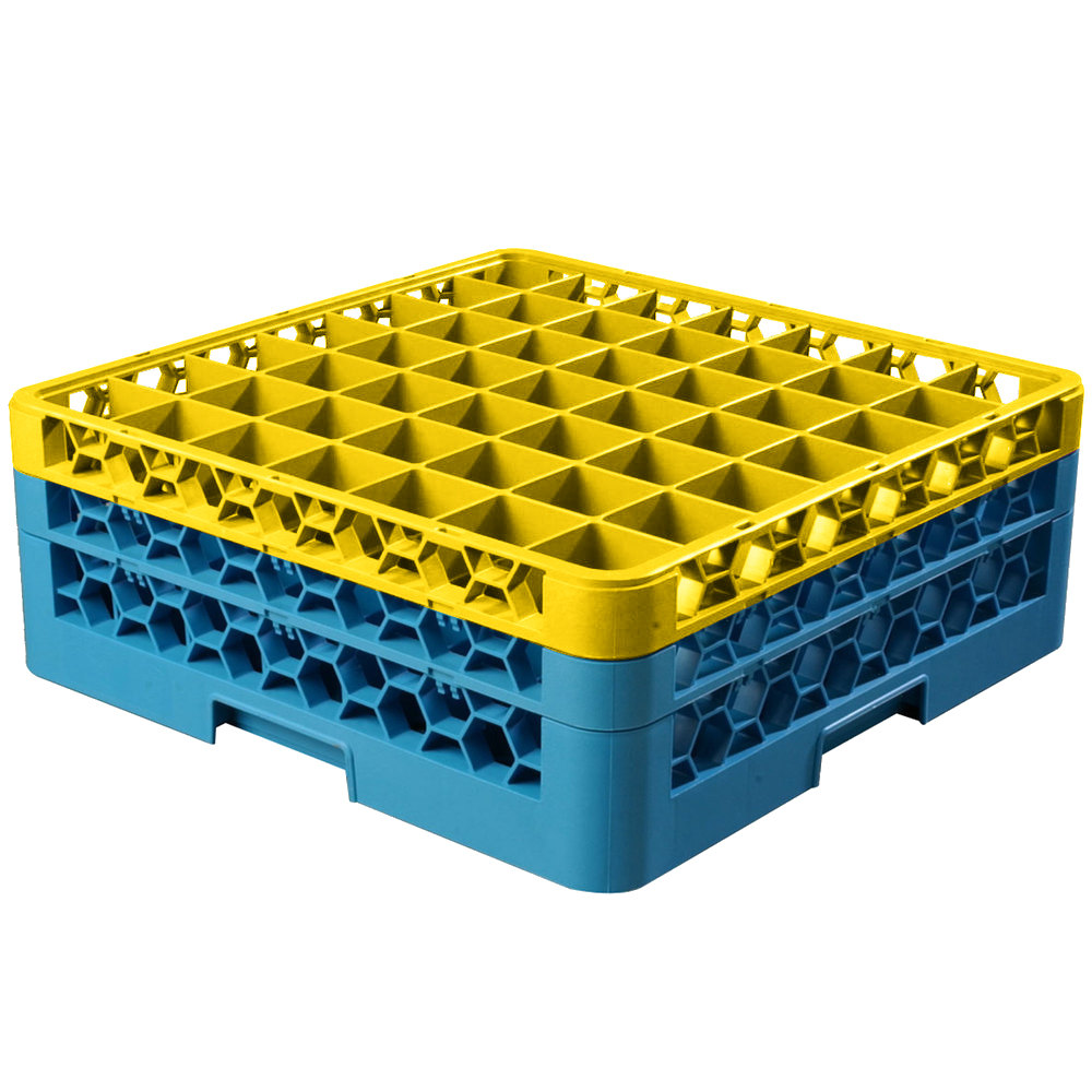 Carlisle Rg49 2c411 Opticlean 49 Compartment Yellow Color