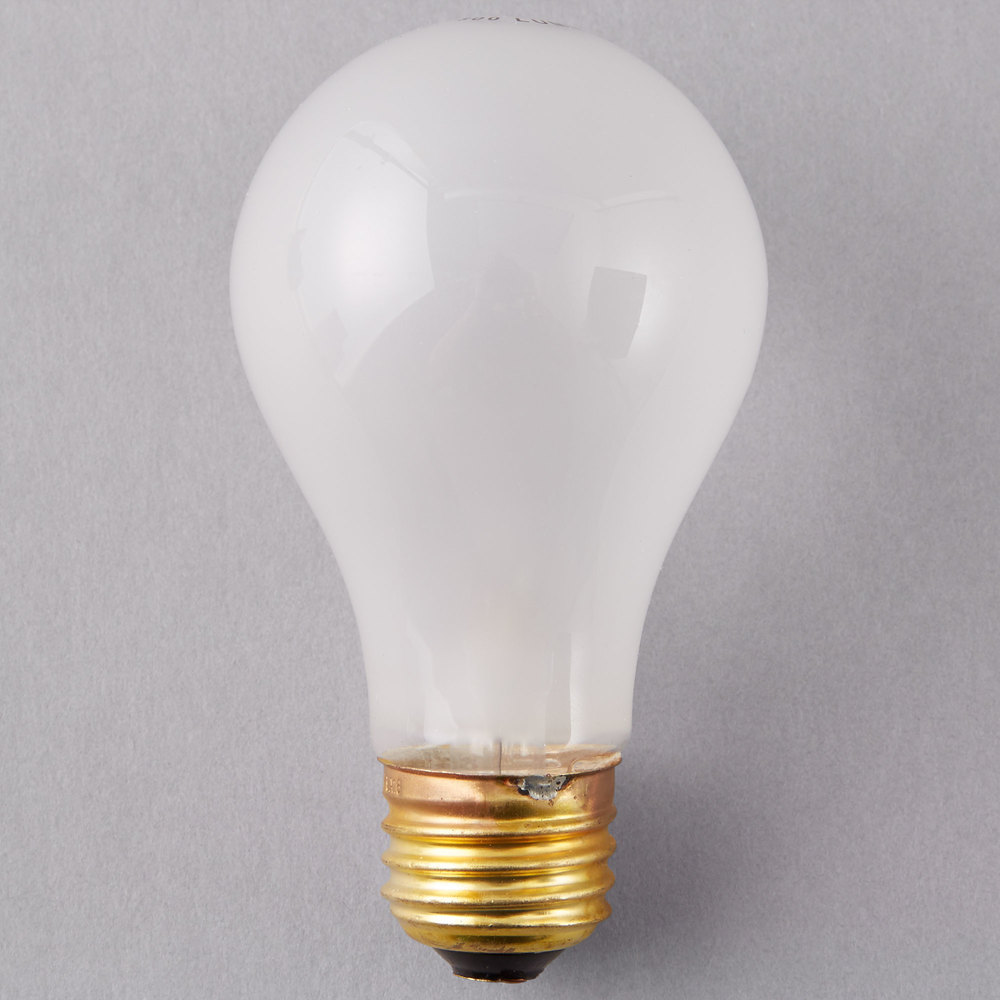 Lighting Bulb: Satco S3951 40 Watt Frosted Finish Incandescent Rough
