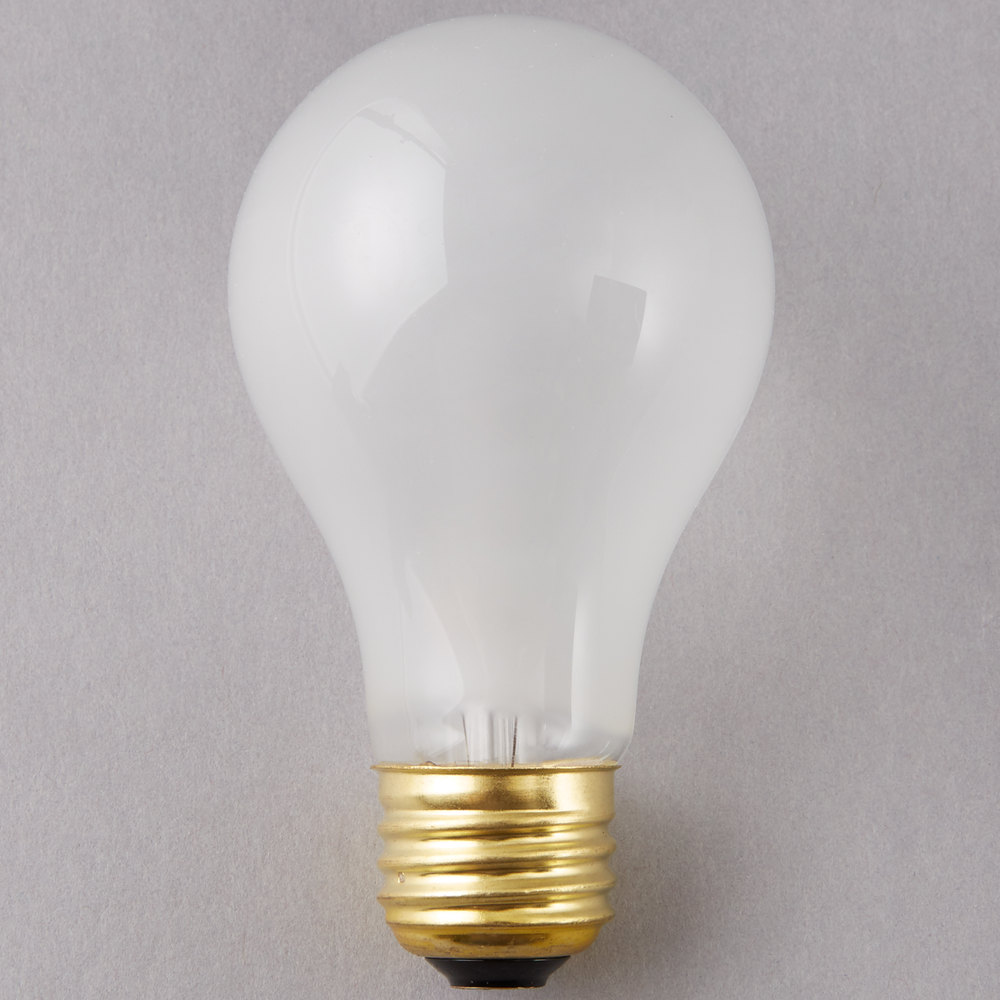 Satco S8522 Supreme 60 Watt Frosted Finish Incandescent
