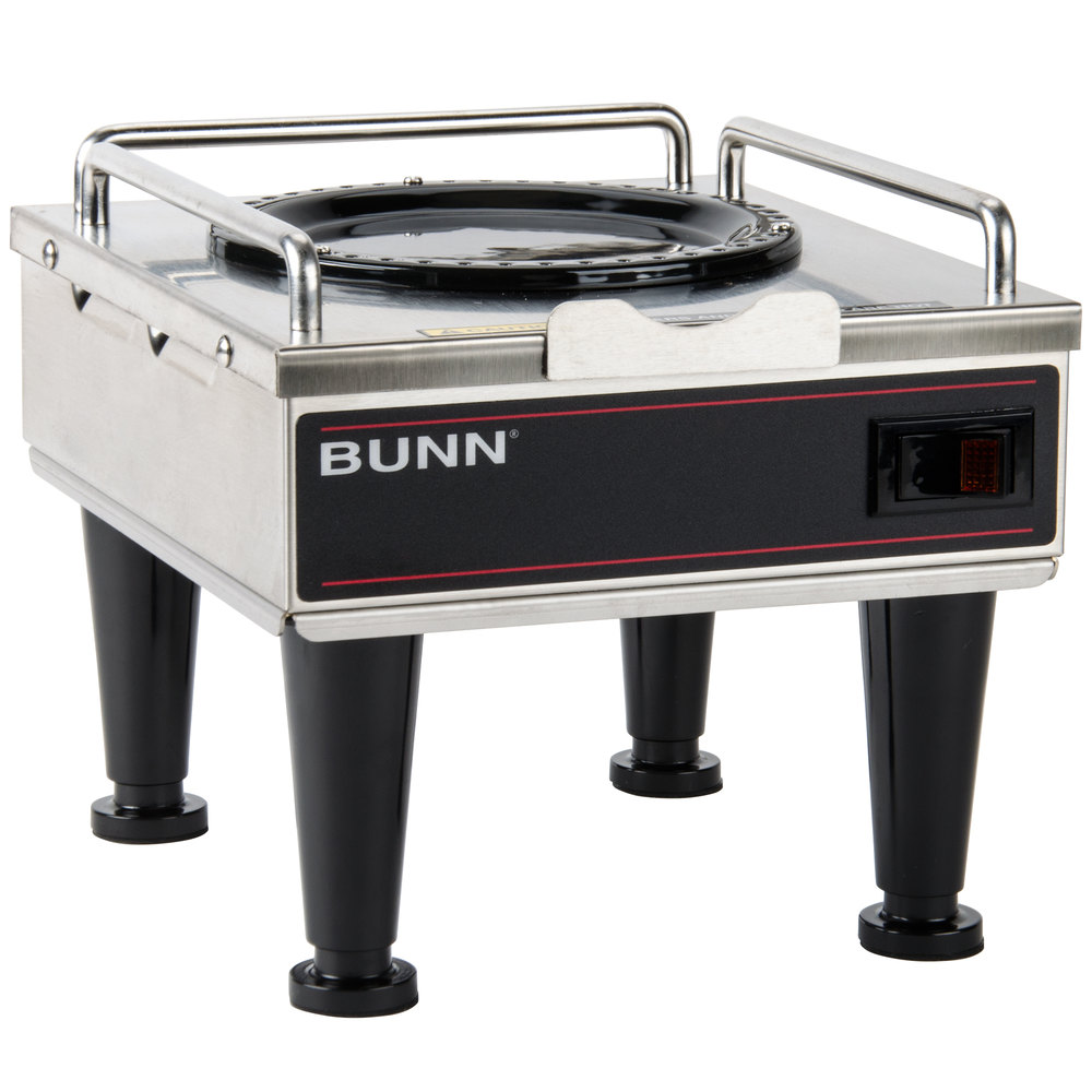 Bunn RWS1 Coffee Server Warmer with Plastic Legs 120V (Bunn 12203.0010)