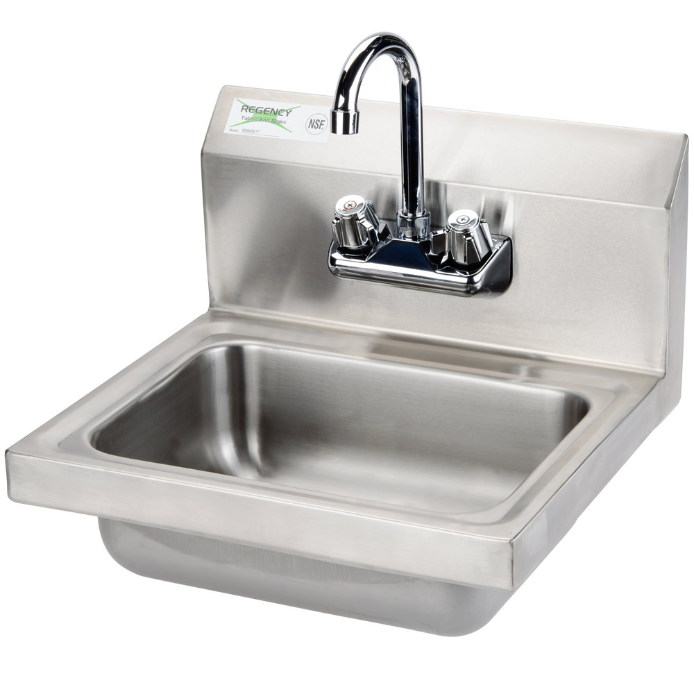 Sink Attached To Wall : Regency 17