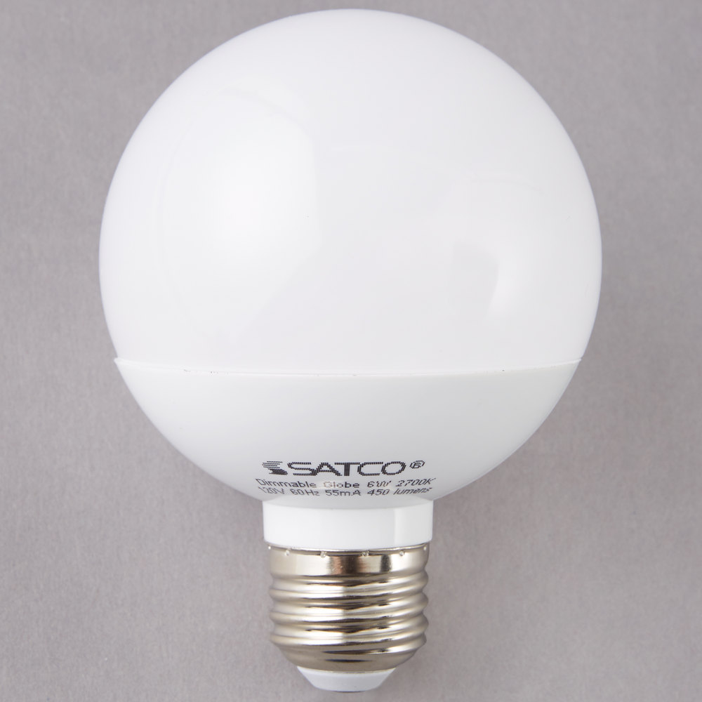 Satco S9200 6 Watt 40 Watt Equivalent Frosted Warm White