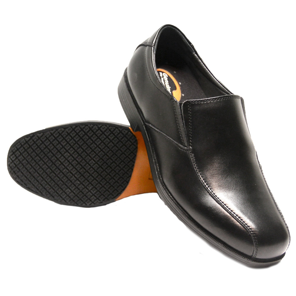 genuine grip 9550 s size 10 wide width black slip on