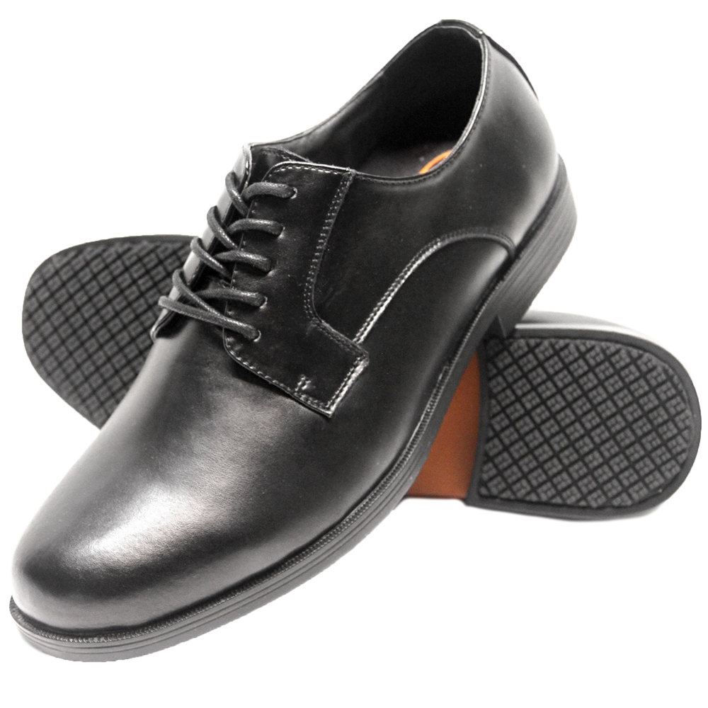 All Black Non Slip Shoes Mens