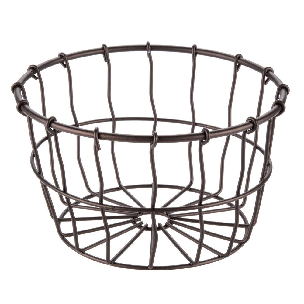 Rev-A-Shelf Oil Rubbed Bronze wire pullout closet baskets come in 14
