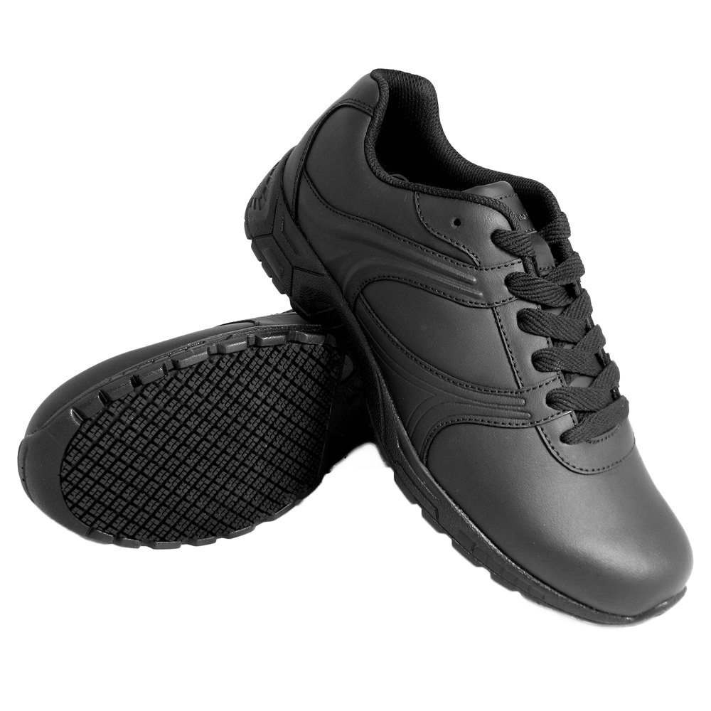 genuine grip 1030 s size 7 wide width black leather