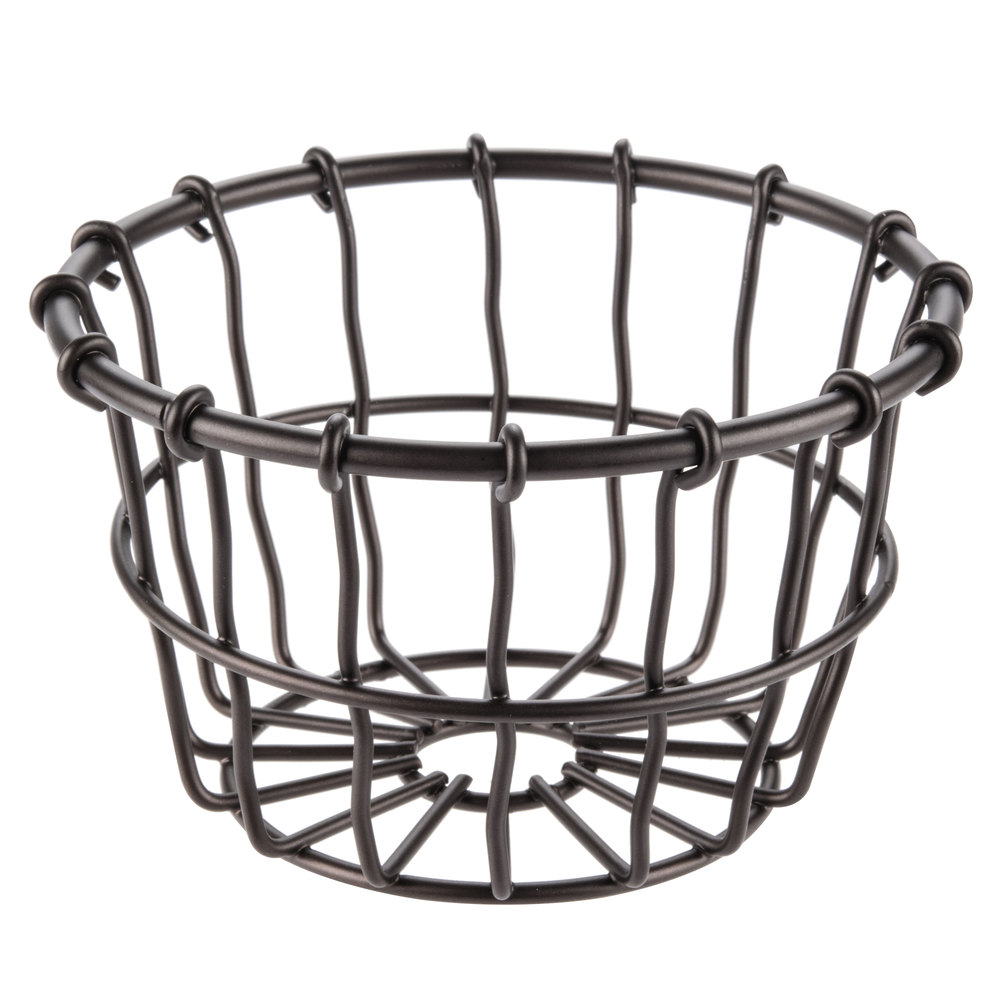 Create an indoor garden with all the charm of a vintage European plant shop. Our Bronze French Wire Collection is thoughtfully designed with elegant details to showcase your favorite botanicals. Use the Hanging Basket to display greenery or herbs,.