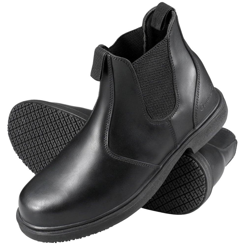 Genuine Grip 7141 Men's Size 14 Wide Width Black Non Slip ...