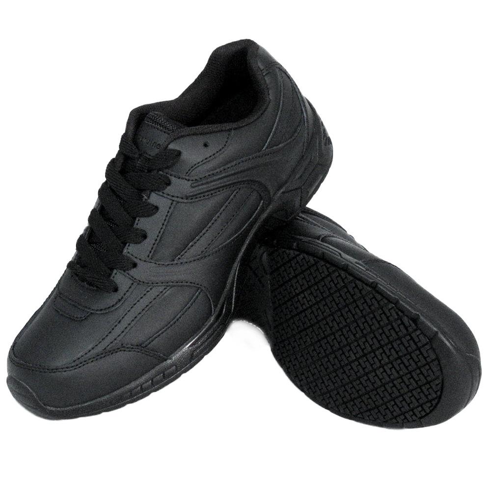 genuine grip 1011 s size 15 wide width black steel toe
