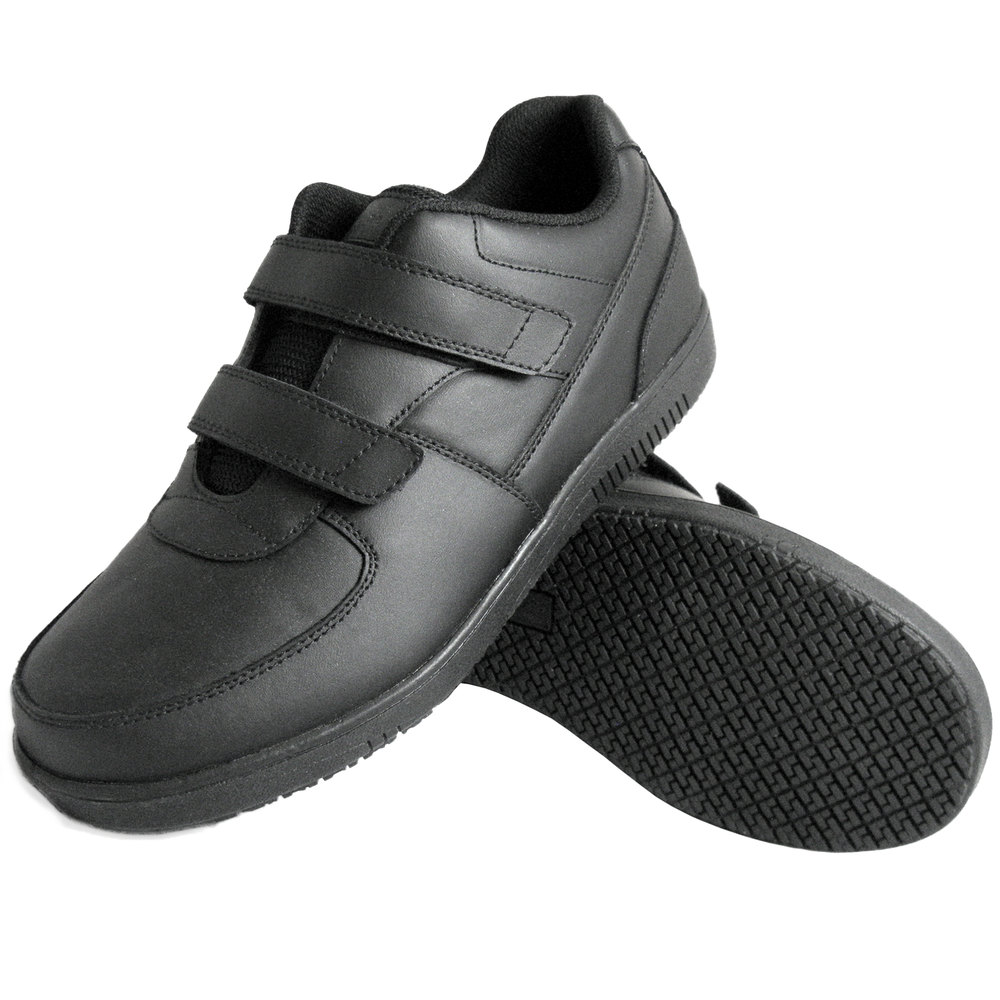 genuine grip 2030 s size 7 wide width black leather