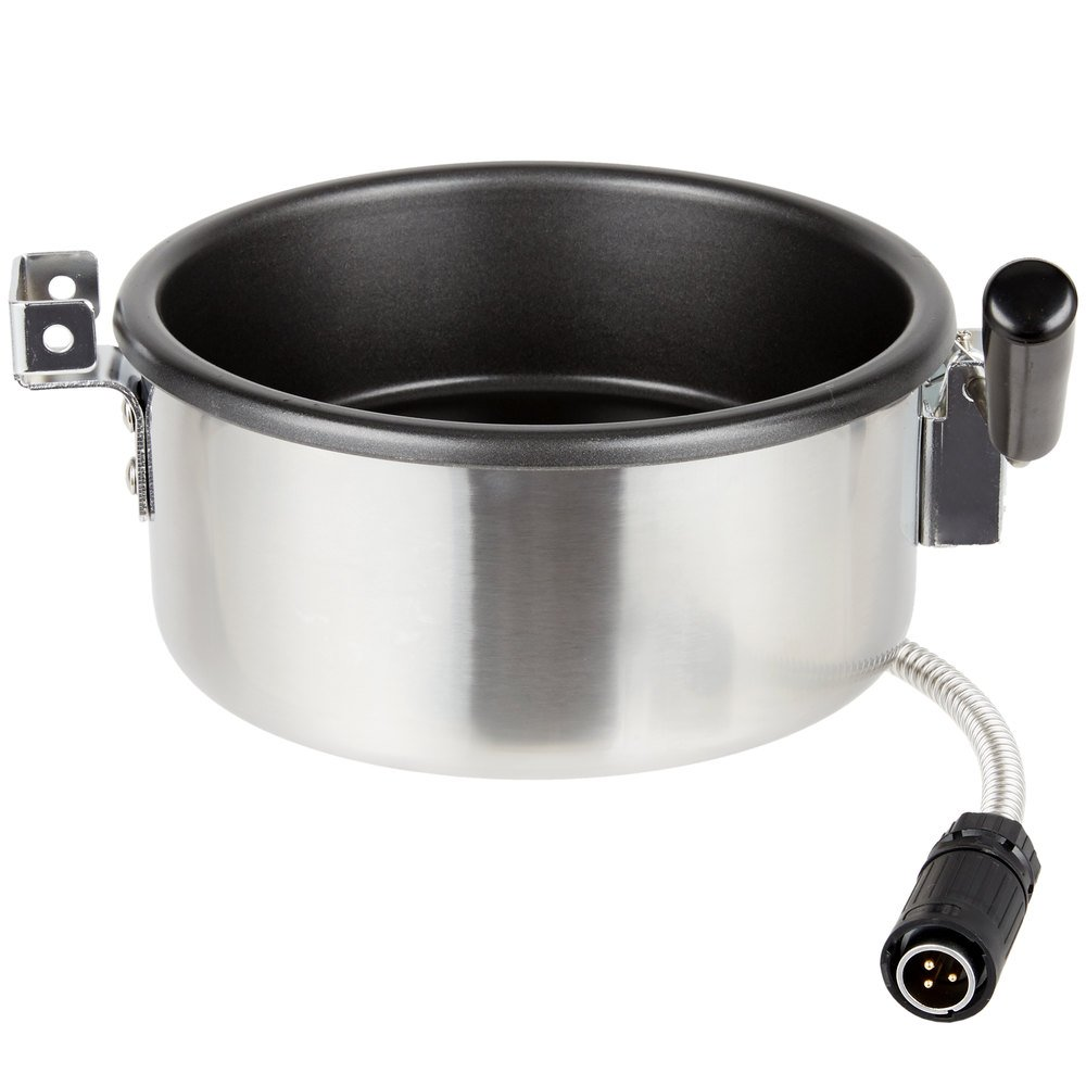 Carnival King PM3KTLETL 8 oz. Popcorn Kettle for PMW17R (Without Digital Display) PM30R and (New-Style, ETL)