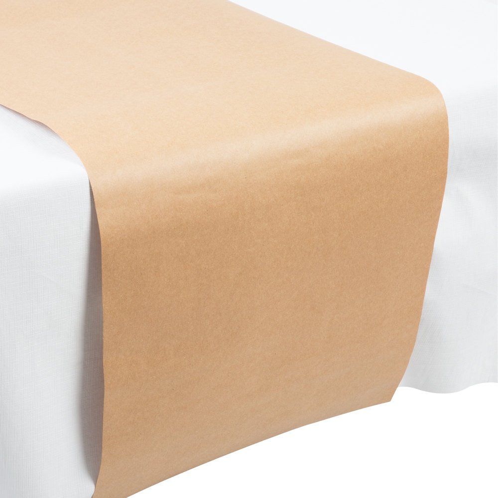 Creative Converting 317607 14 Quot X 84 Quot Kraft Paper Table Runner