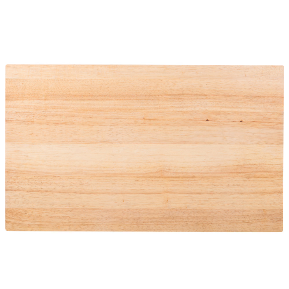 Choice 30 Quot X 18 Quot X 1 3 4 Quot Wood Cutting Board