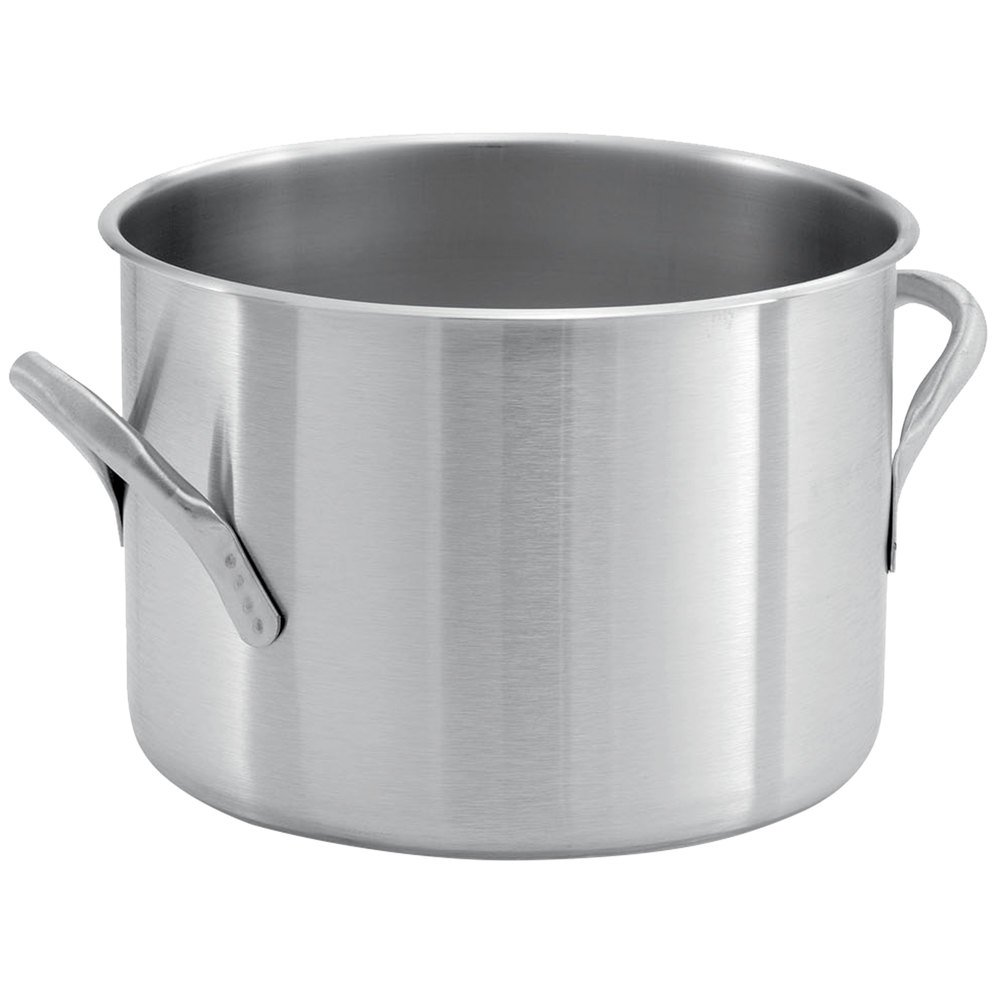 Kitchen Pots: Vollrath 78560 Classic 7 1/2 Qt. Stainless Steel Stock Pot