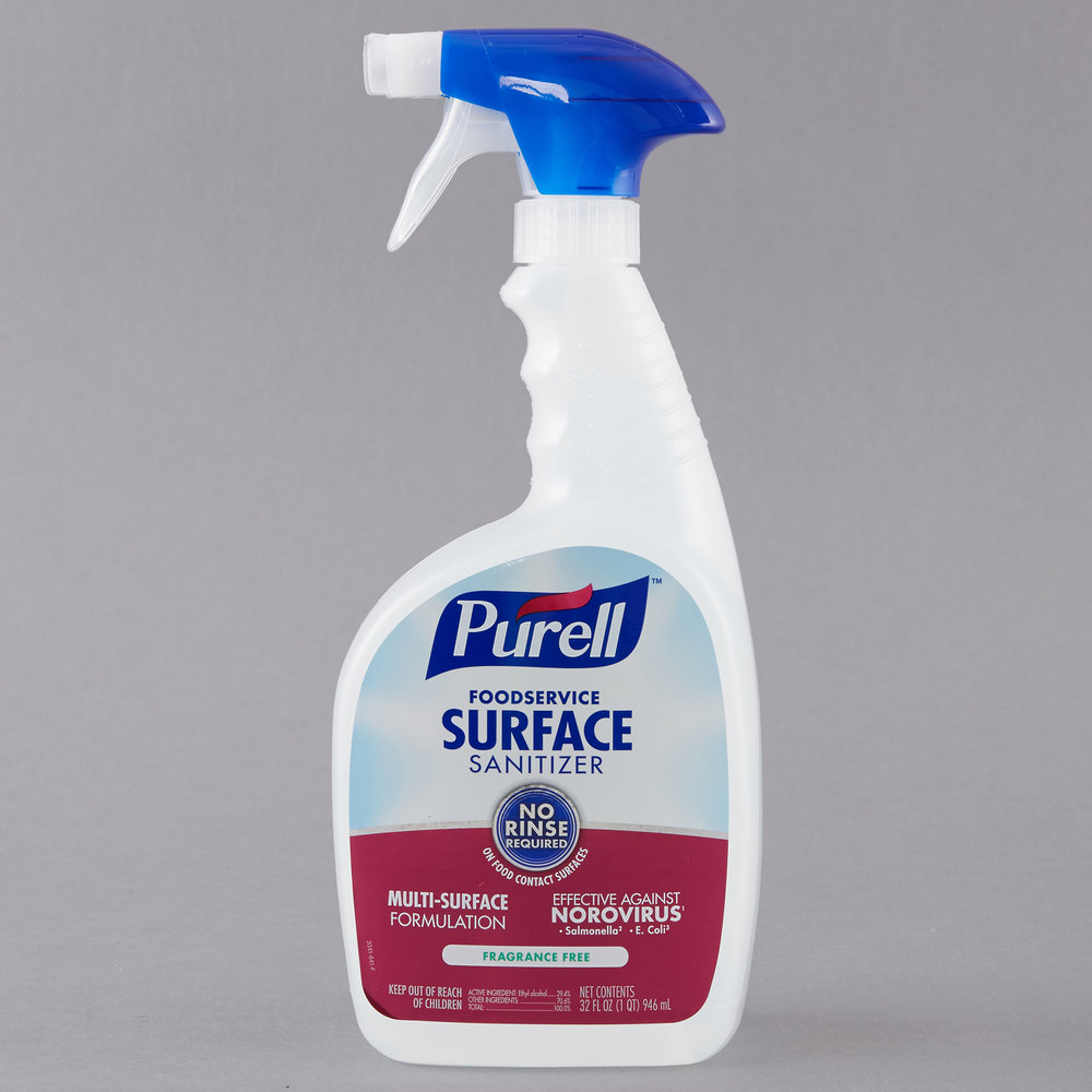 Purell 3341 03 32 Oz Fragrance Free Foodservice Surface