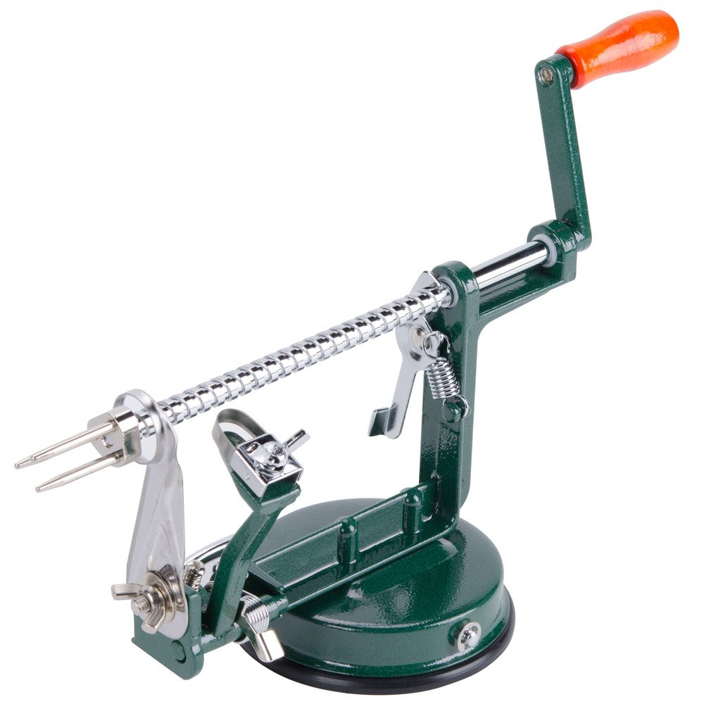 Choice Cast Aluminum Apple Slicer Peeler Corer With