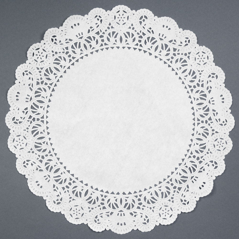 18 Lace Doilies 250 Pack