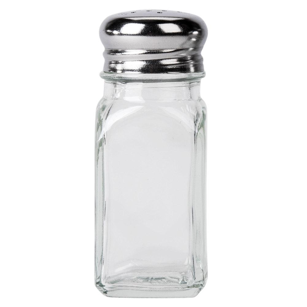 Tablecraft 154SP 2 Oz. Square Salt And Pepper Shaker