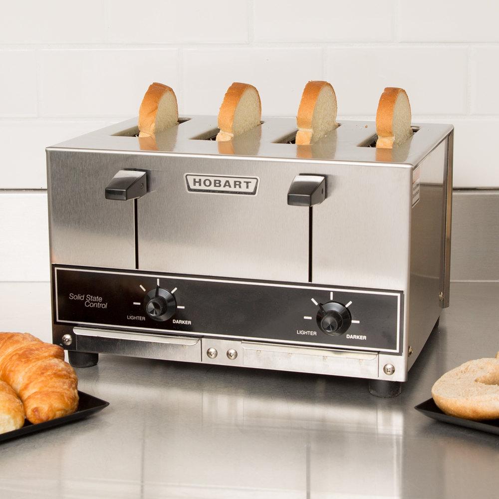 Pop Up Toaster ~ V hobart et commercial pop up toaster slice