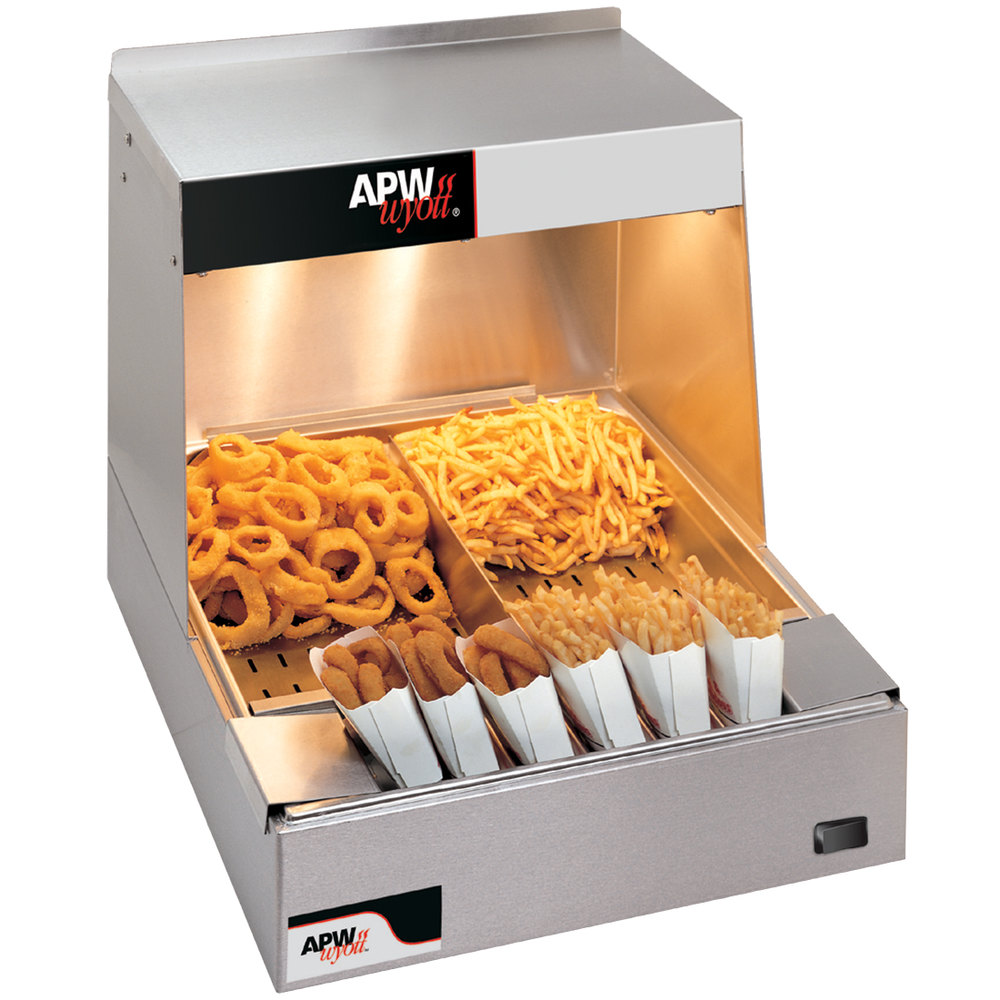 Apw Wyott Cfhs 21 21 Quot Countertop Fry Holding Station 120v