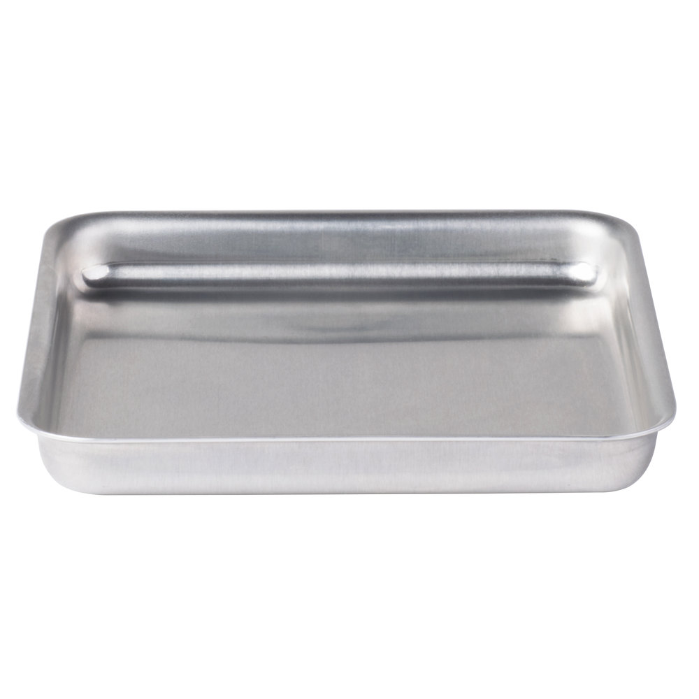 "American Metalcraft SQ815 8"" x 8"" x 1 1/2"" Heavy Weight Aluminum Pizza Pan"