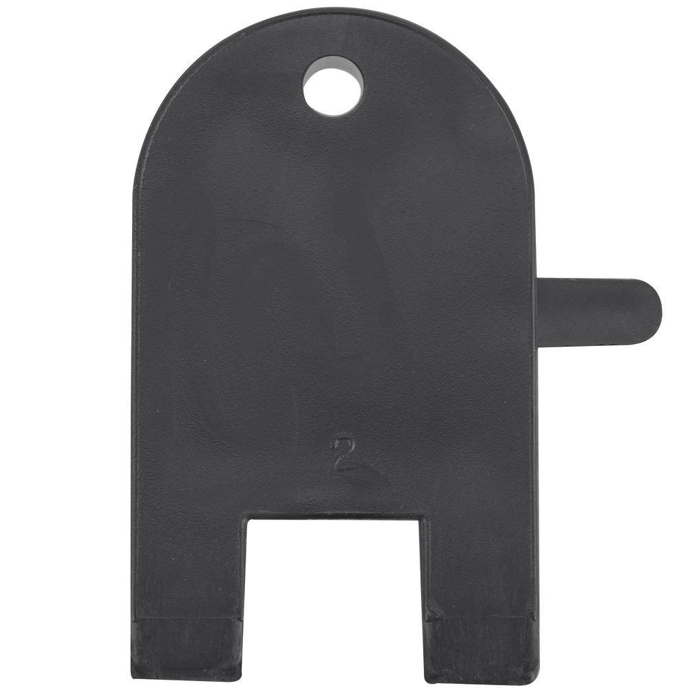 Lavex 9 Quot Double Roll Jumbo Toilet Tissue Dispenser Key