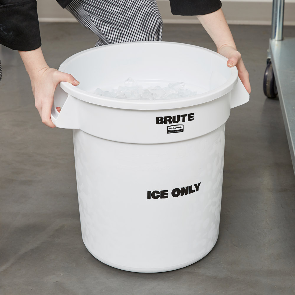 Rubbermaid Fg9f8600wht Proserve 10 Gallon White Quot Ice Only