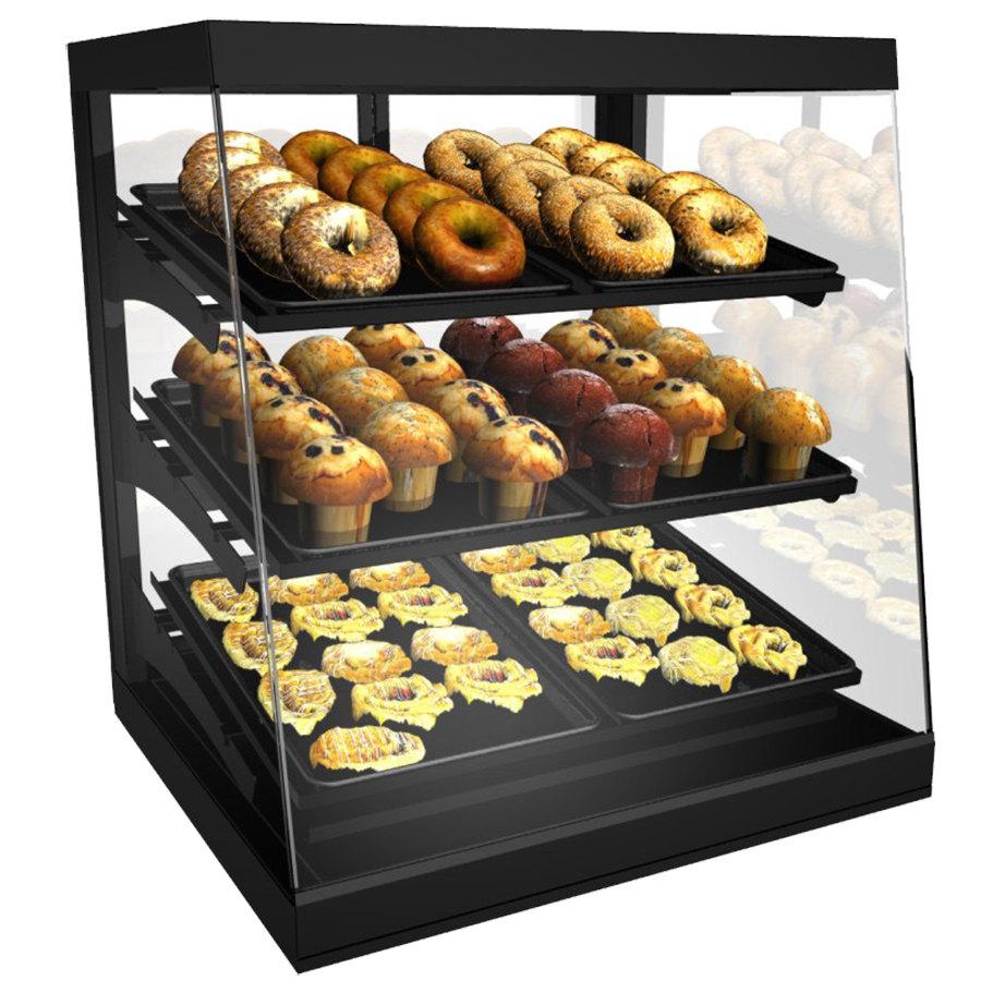 Countertop Bakery Display Cases : ... Black 28