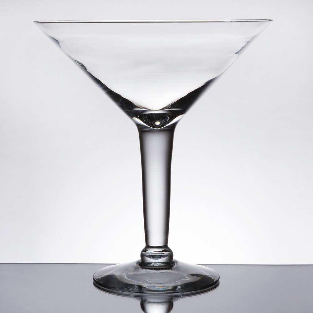libbey 9570101 super stems 44 oz  super martini glass