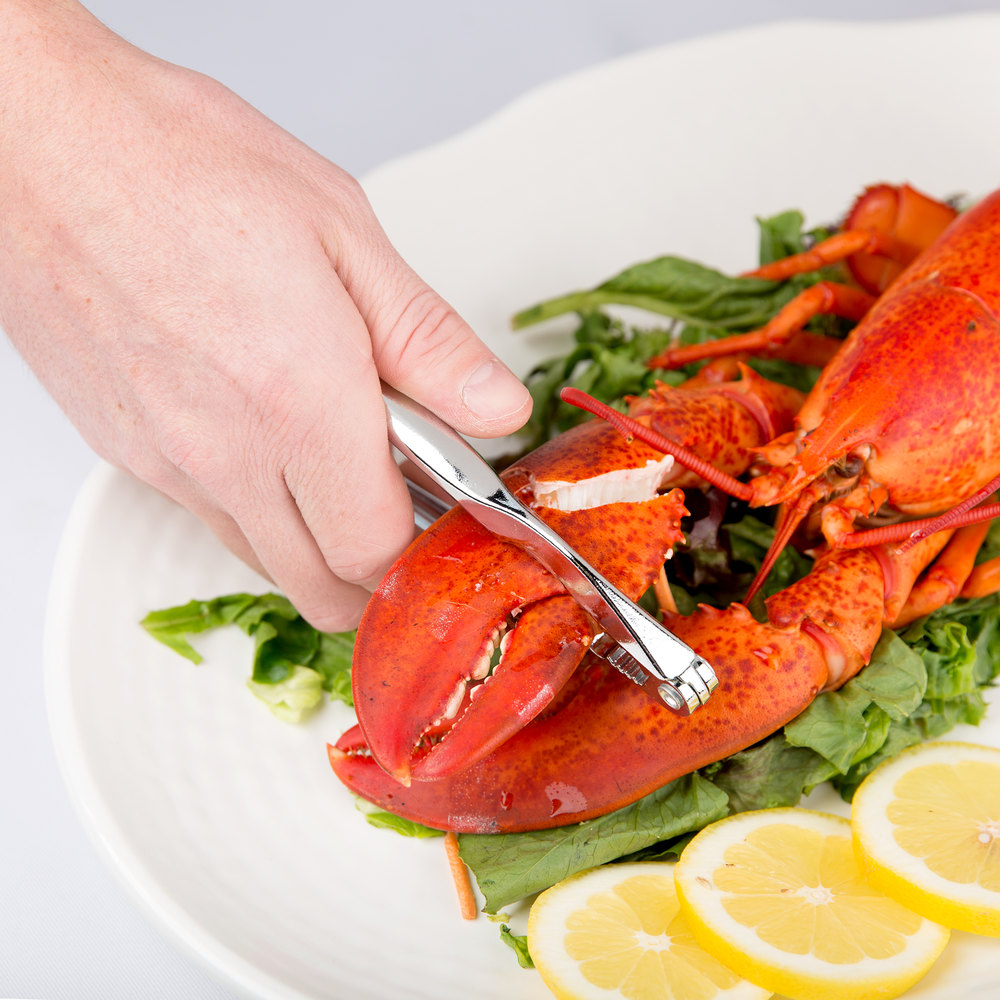 "6"" Double Jaw Chrome-Plated Zinc Alloy Lobster Cracker"