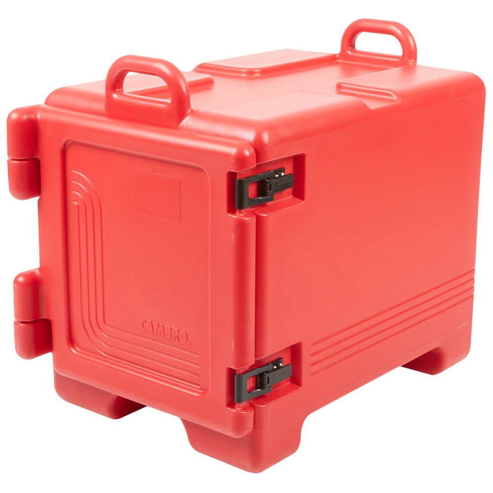 Cambro Upc300158 Ultra Pan Carrier Hot Red Front Loading