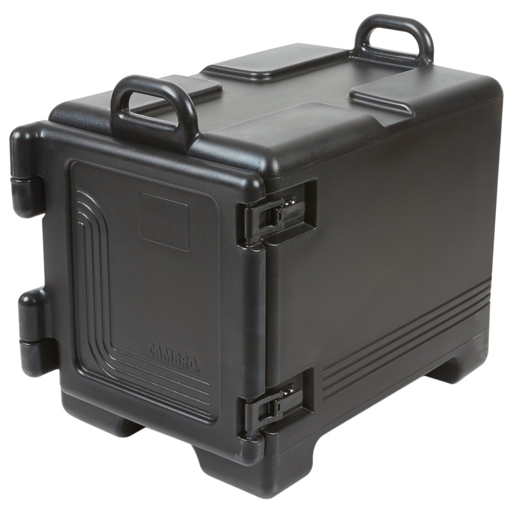 Cambro Upc300110 Ultra Pan Carrier 174 Black Front Loading