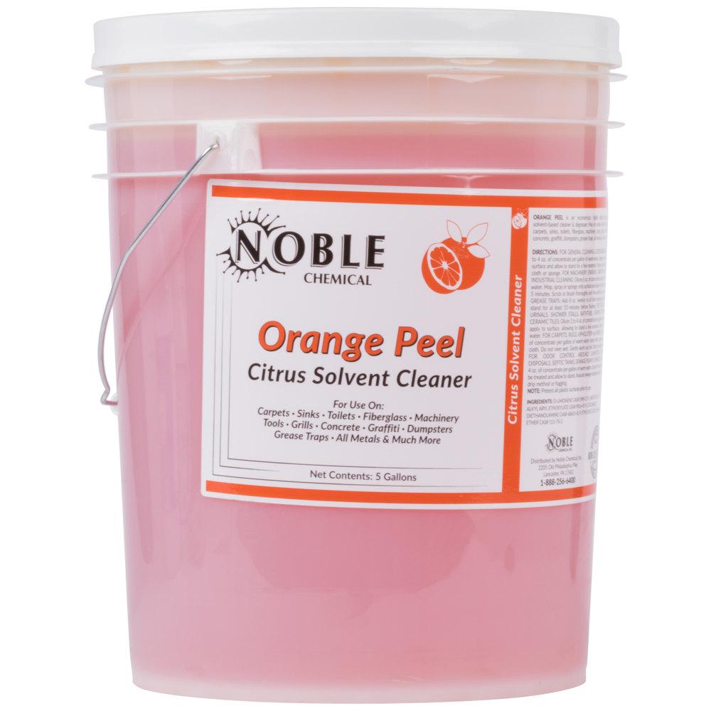 Noble Chemical 5 Gallon Orange Peel Citrus Solvent Cleaner