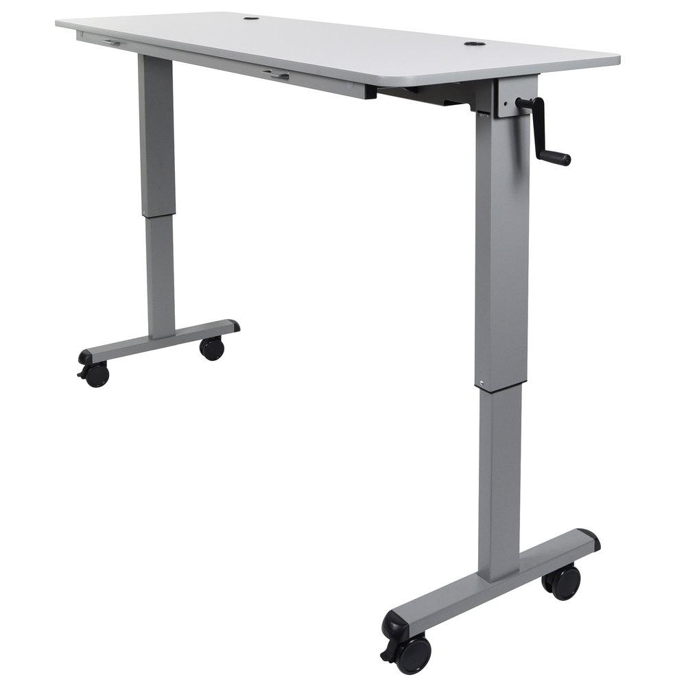 Luxor h wilson flip top nesting table quot adjustable