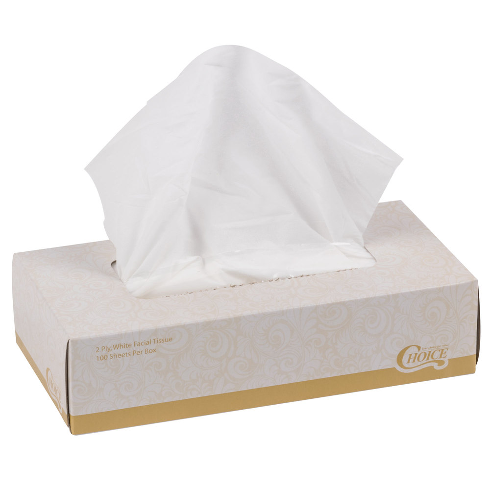 2 ply facial tissue