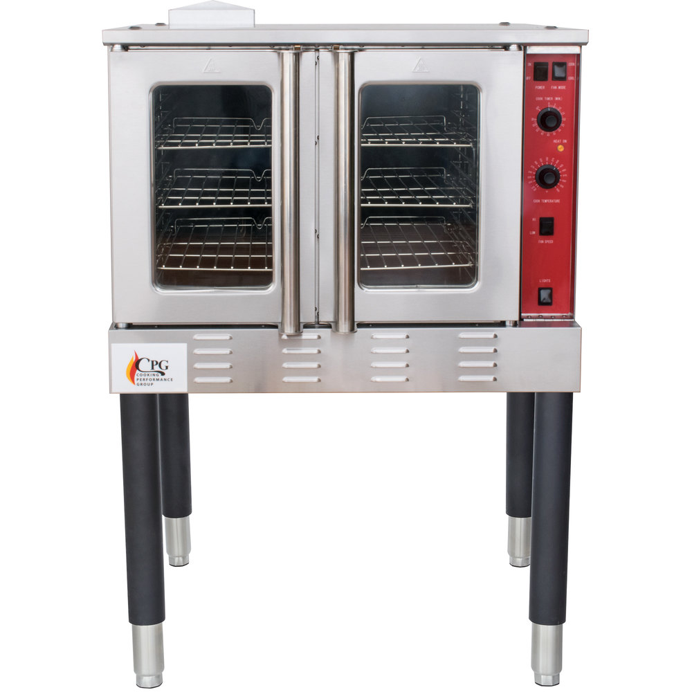 Cooking Performance Group Fgc100n Single Deck Full Size