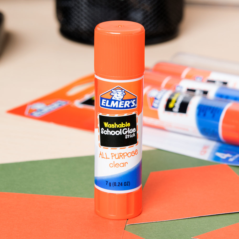 how to clean out a glue stick