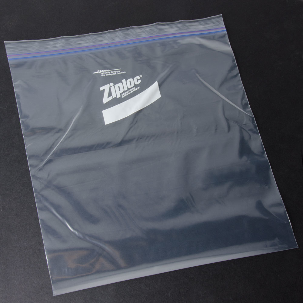 Diversey Ziploc 13 X 15 5 8 Two Gallon Freezer Bag With Double Zipper And Write On Label 100