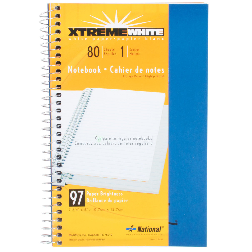Rediform office products subject wirebound notebook wide - Main Picture