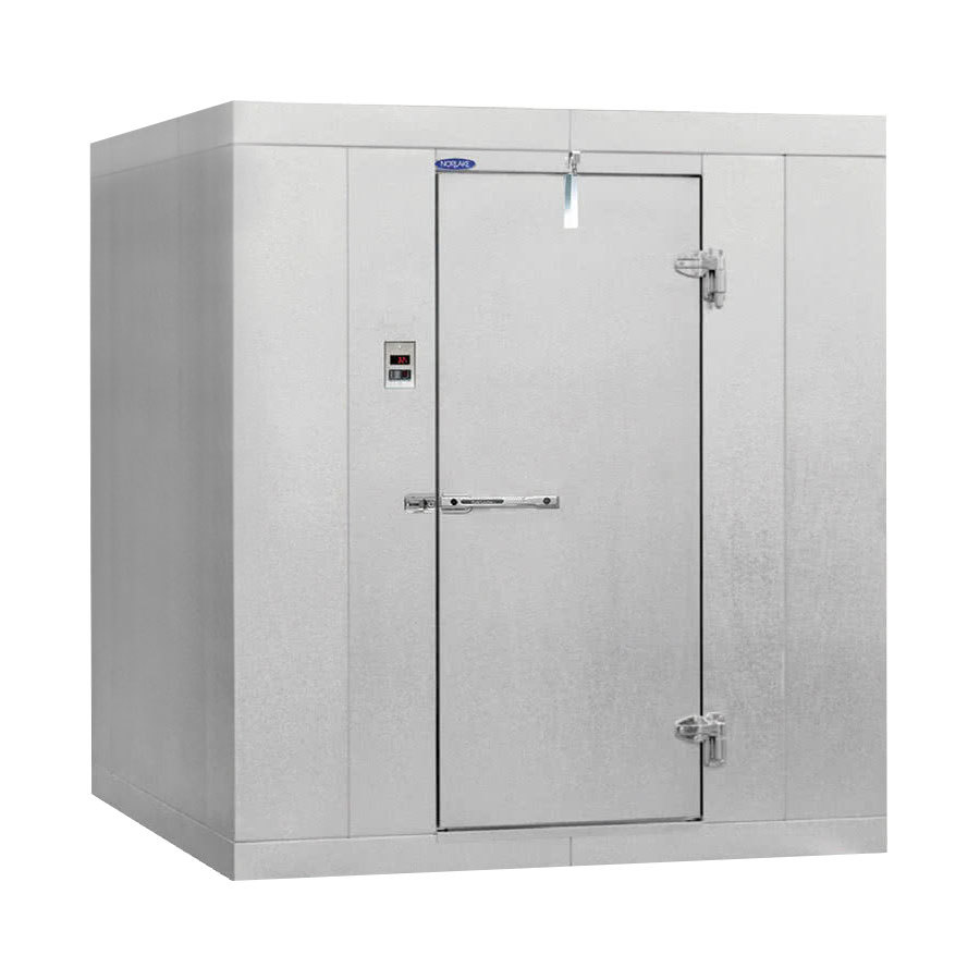 Right hinged door nor lake klb7746 w kold locker 6 39 x 4 39 x for 10 door walk in cooler