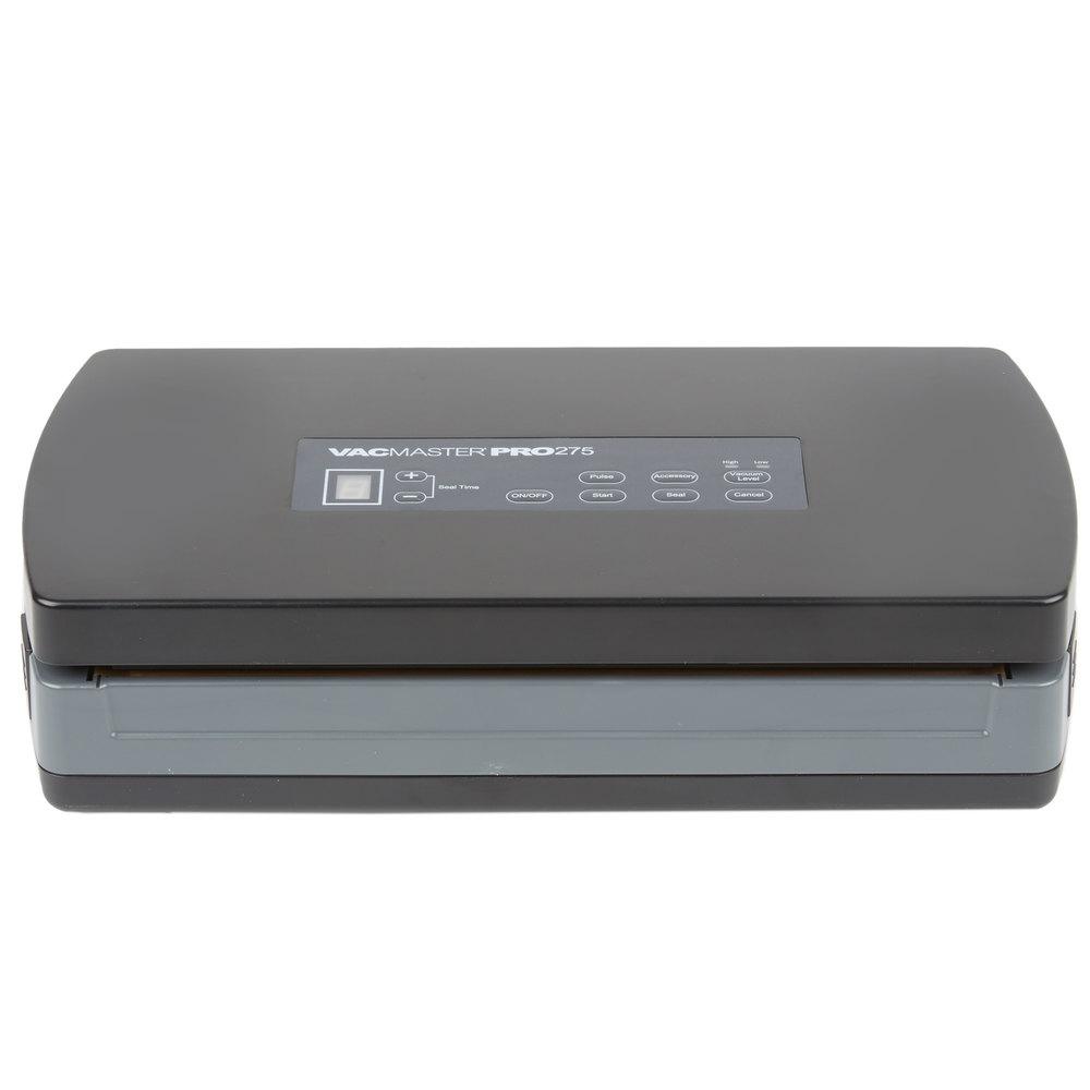 ary vacmaster pro 275 external vacuum packaging machine with 12 rh webstaurantstore com VacMaster Packaging VacMaster Pro 3.0.5