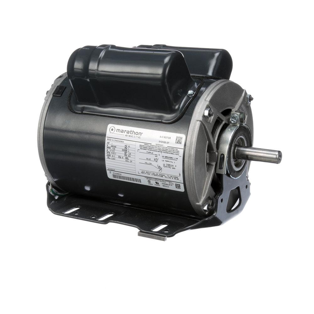 Taylor 013102 27 beater motor single phase for Large single phase motors