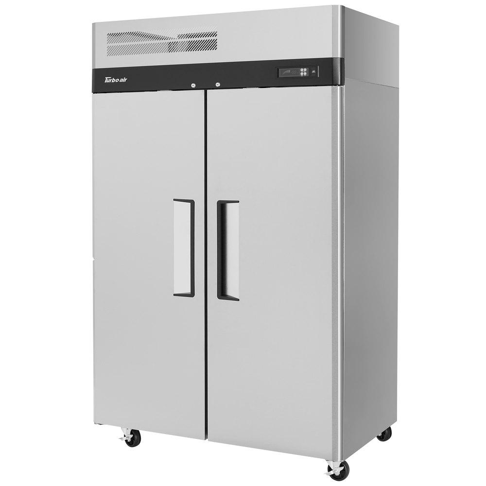 "Parts For Ge Refrigerator 2 Pcs Refrigerator Door Pin: Turbo Air M3R47-2 M3 Series 52"" Solid Door Reach In"